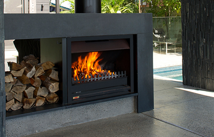 Outdoor Fireplace Cambridge Gas Fires Waikato Hamilton